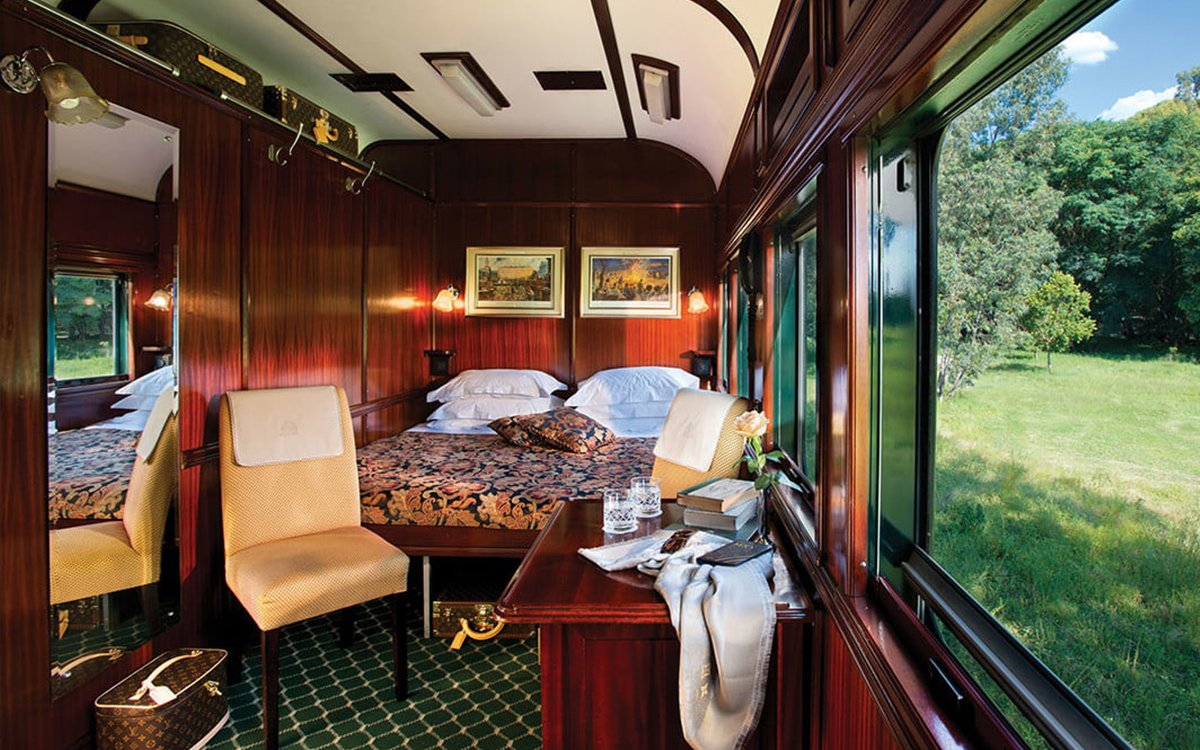 Africa's Entry Into the Luxury Rail Renaissance Is a Stone Cold Stunner