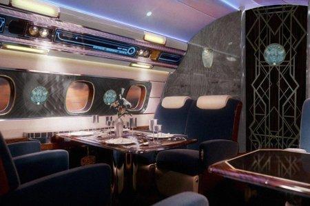 Ever Wonder What an $80M Flying Speakeasy Looks Like?