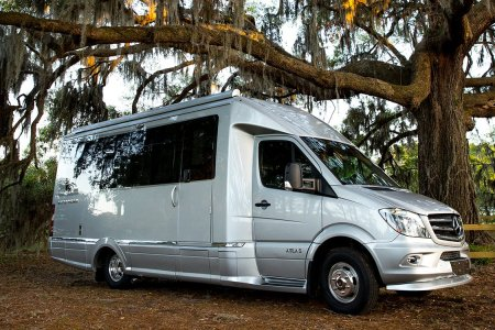Airstream and Mercedes Just Teamed Up on a Bona Fide Butterface