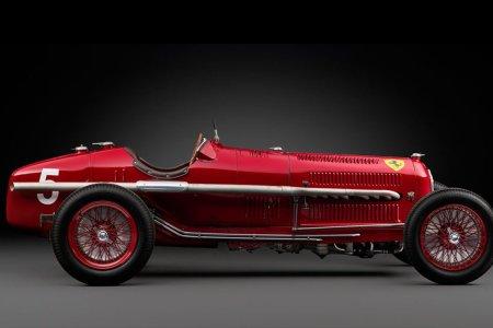 This Ultra-Rare Pre-War Alfa Romeo Is Hitting the Auction Block