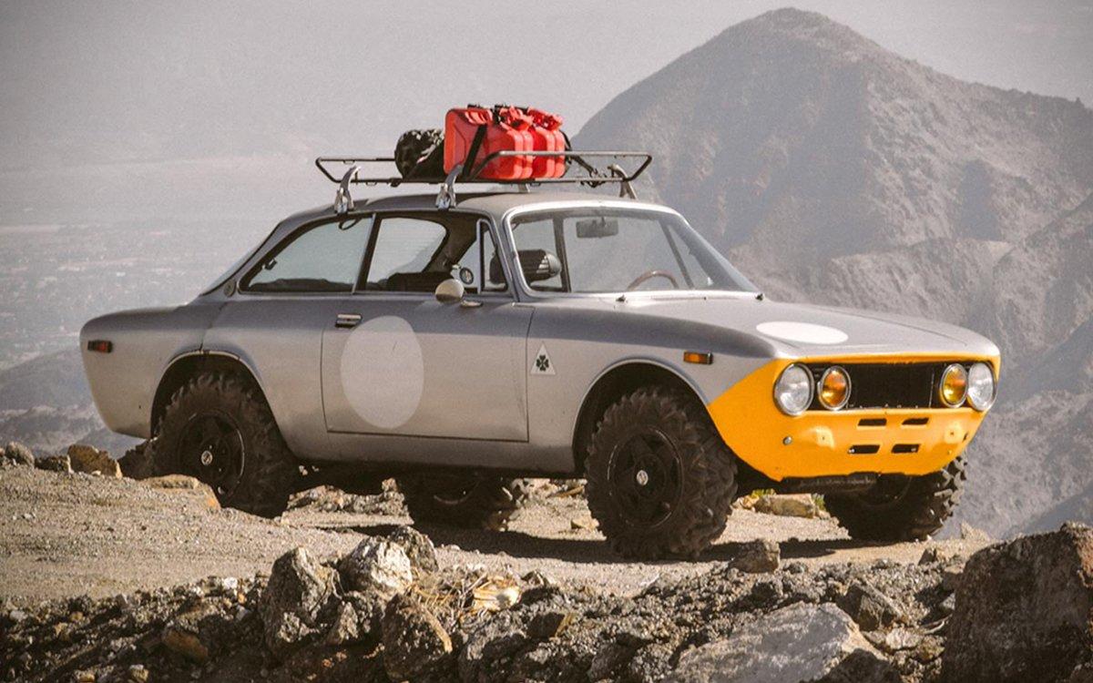 Move Over, Land Cruiser: We've Got an Alfa Romeo Safari Car