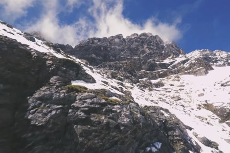 Racing a Drone Through the Swiss Alps? Video or It Didn't Happen.