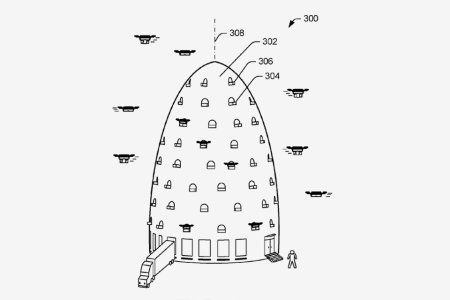 Amazon Just Patented a Giant Beehive for Drones