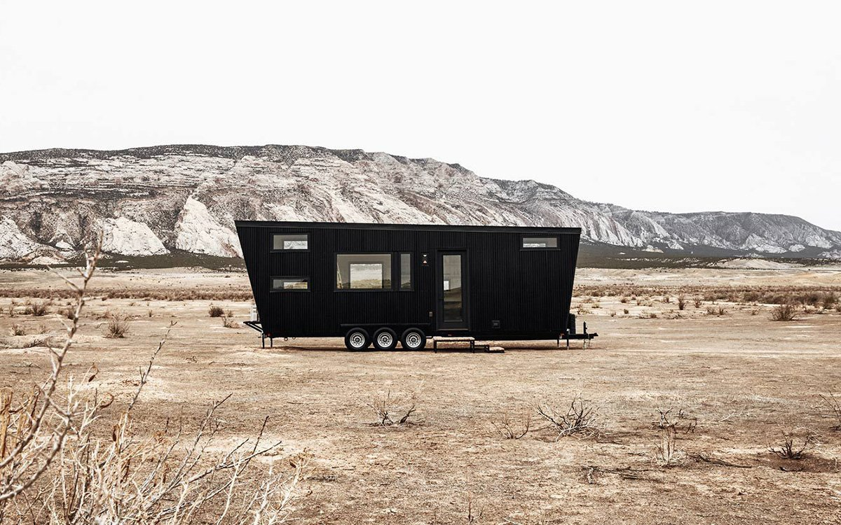 What's Black, Trapezoidal and About the Same Price as an Airstream?