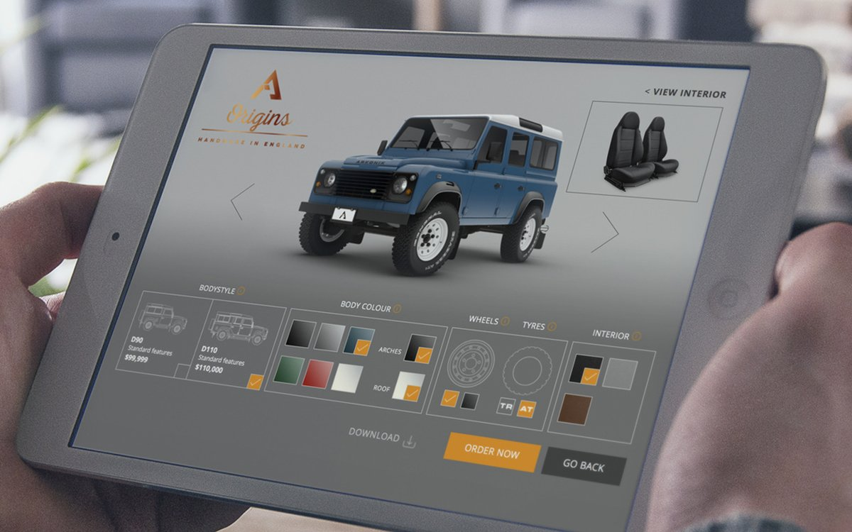 Today in Lost Productivity: Customize Your Dream Land Rover Online