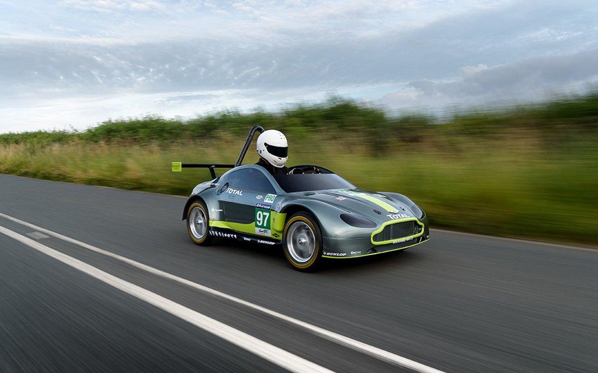 So Aston Martin Made a Soapbox Racer