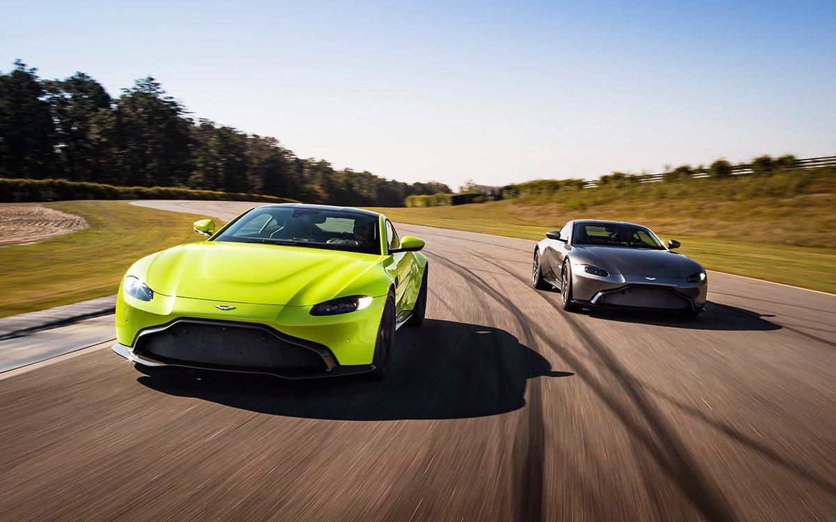 Aston Martin's New Vantage Is the Nexus of Brains, Brawn and Beauty
