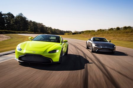 Aston Martin's New Vantage Is the Nexus of Brains, Brawn and Beauty
