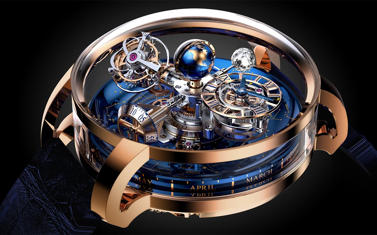 This Watch Is Like a Planetarium on Your Wrist