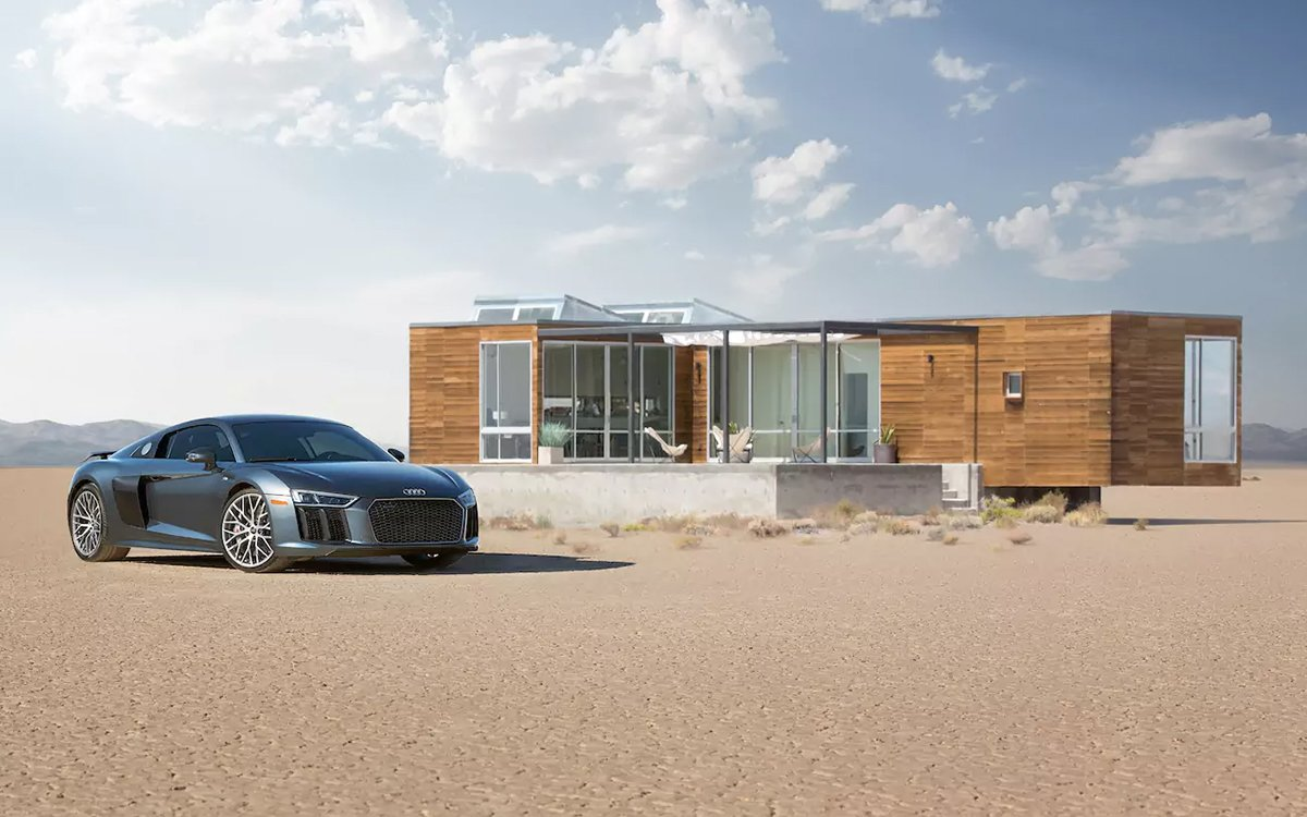 This Hidden Desert Rental Has No Address — But It Does Have an Audi R8