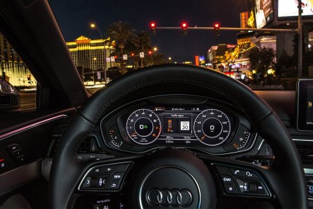 Audi Just Launched Vehicle-to-Infrastructure Tech. Here's WTF That Means.