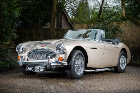 The Very Last Austin-Healey MKIII Hasn't Aged a Day