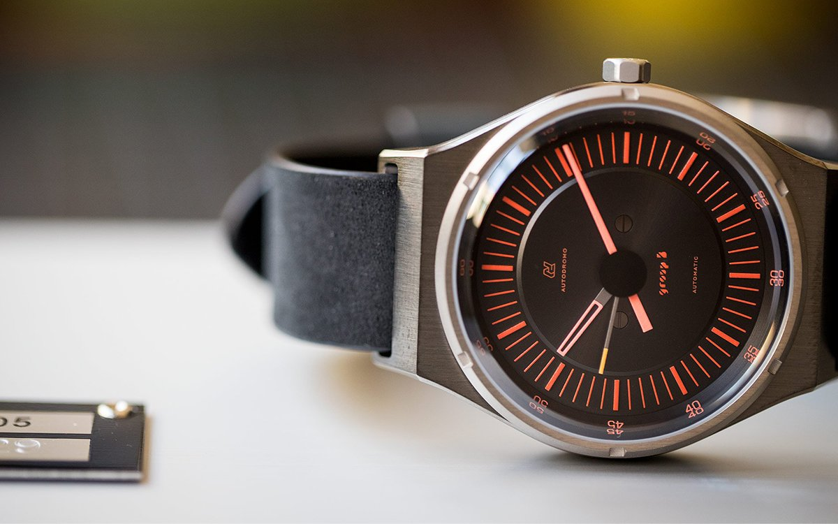 Autodromo's '80s Rally Car-Inspired Watch Is a Technical Masterpiece