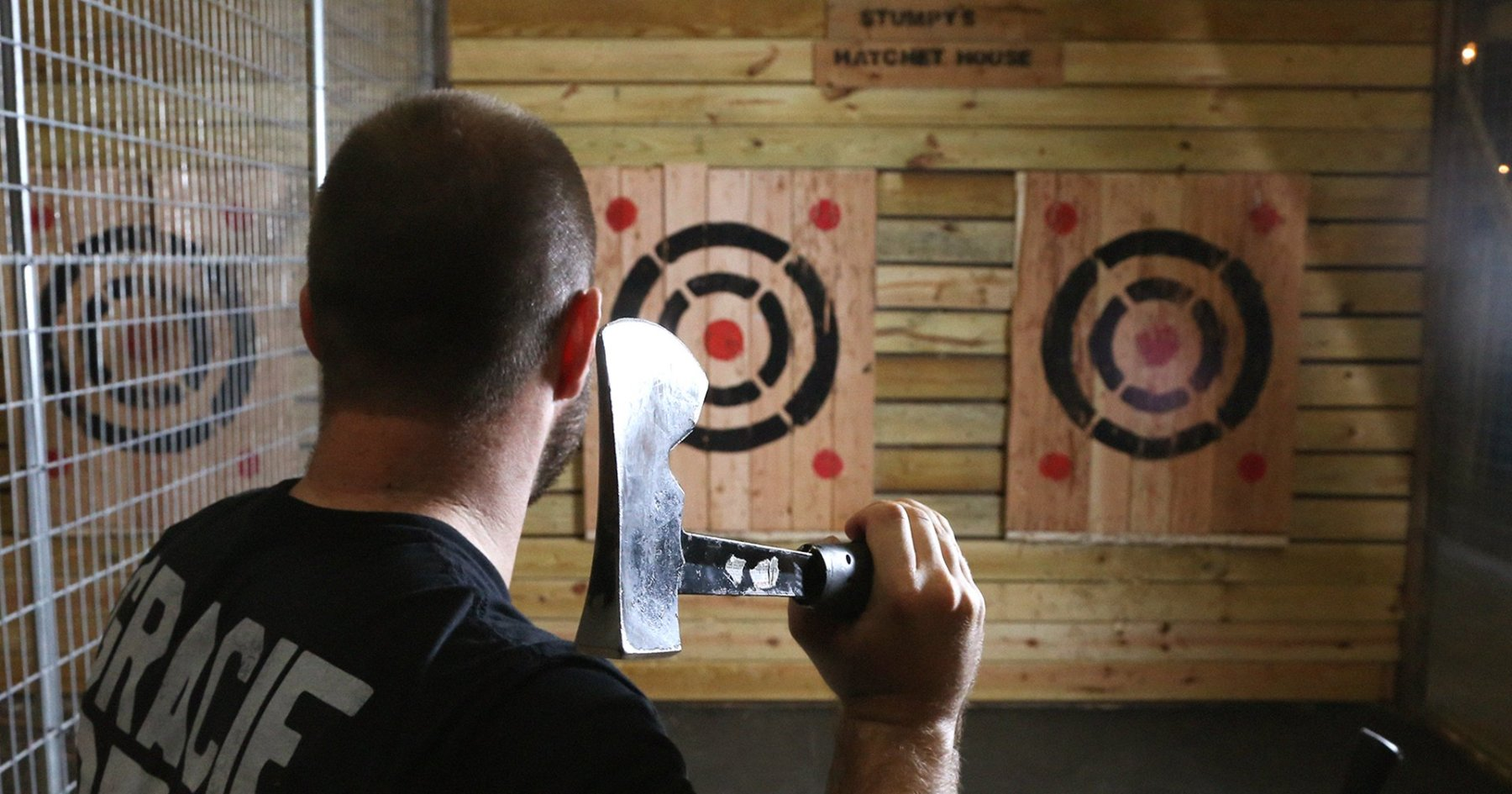 Axe Throwing Is Your New Favorite Fall Sport, Stress Reliever