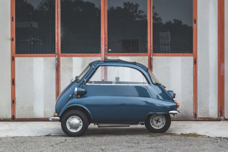 The Front-Opening BMW Isetta Was, Miraculously, a Success Story