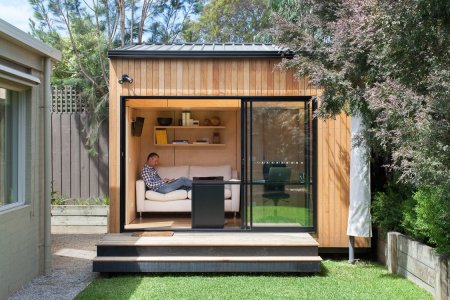 The 'Backyard Room' Is the Best Lawn Ornament Ever Made