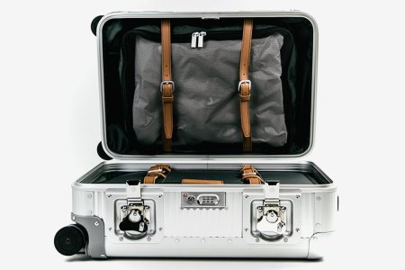A Carry-On Inspired by Bank Vaults
