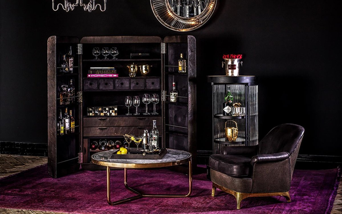 Well Hello There, Prettiest Home Bar Ever Built