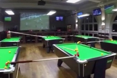 The Best Billiards Shot You'll See This Week