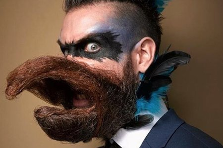 The National Beard and Moustache Competition Brought Out All the Hairy Freaks