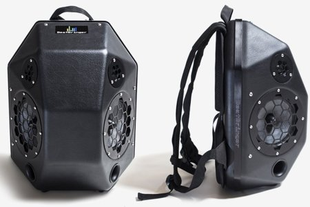 This Ridiculously Loud Bluetooth Speaker Can Be Worn as a Backpack
