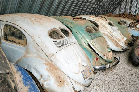 A Shangri-La of VW Beetles Was Just Found in an Abandoned Barn