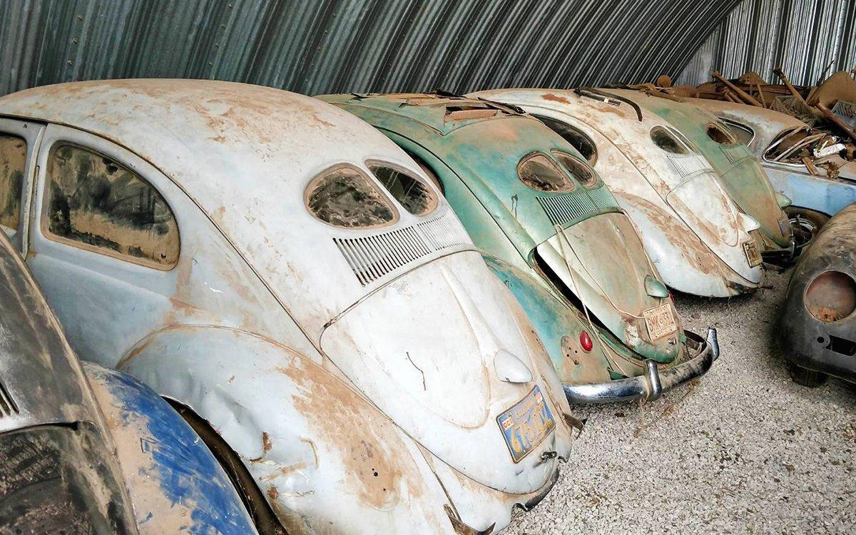 The Shangri-La Of Slug Bugs Unearthed In Barn Find - InsideHook