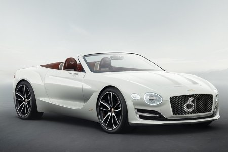 Do You Have Time to Talk About Our Lord and Savior, Bentley's First All-Electric Car?