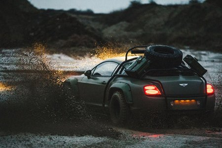 This Mutant Bentley Is the Reason Your Jeep Needs a Nightlight