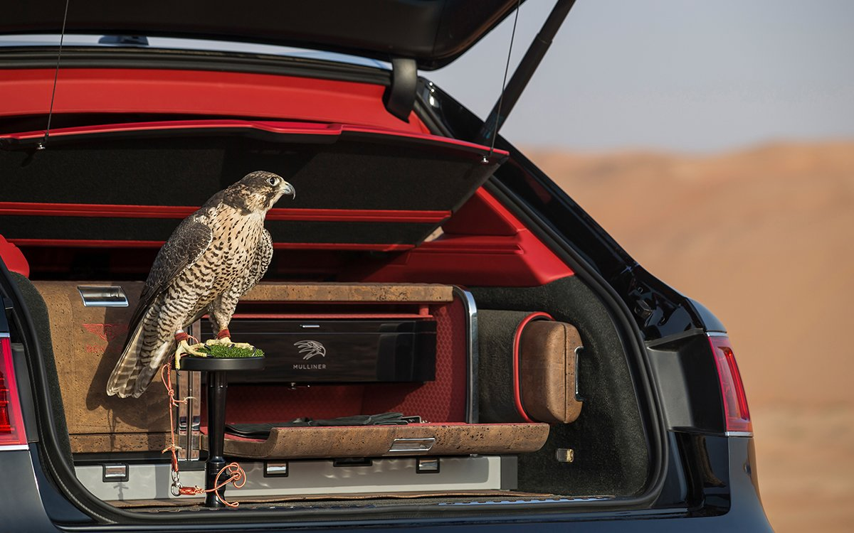 What to Get the Bird of Prey Who Has Everything? A Bentley, of Course.