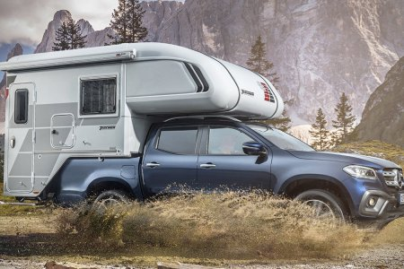 That Mercedes Pickup? It's Getting a Camper Option.
