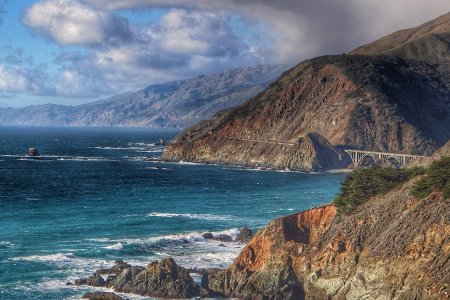 A Chunk of the PCH Just Became the Prettiest Bike Path in America