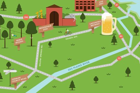 An Illustrated Guide to Chicago's Best Long Bike Rides