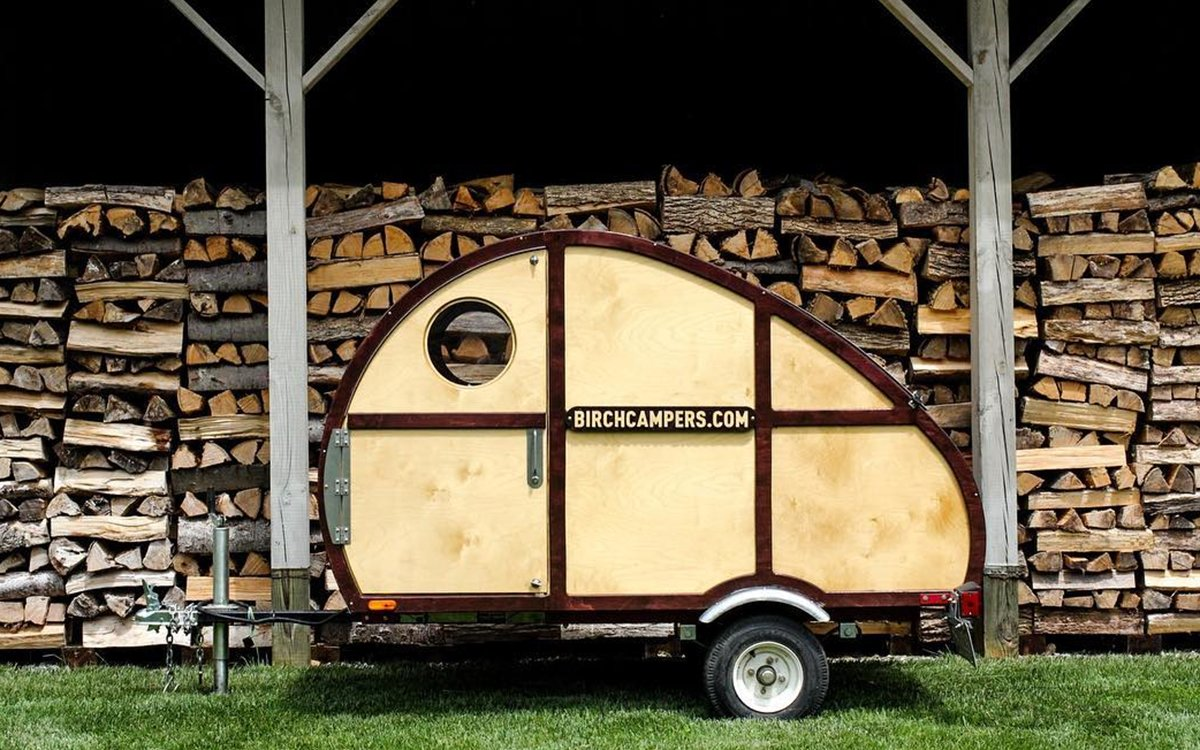 Sprig, a DIY Teardrop Trailer Build From Birch Campers - InsideHook