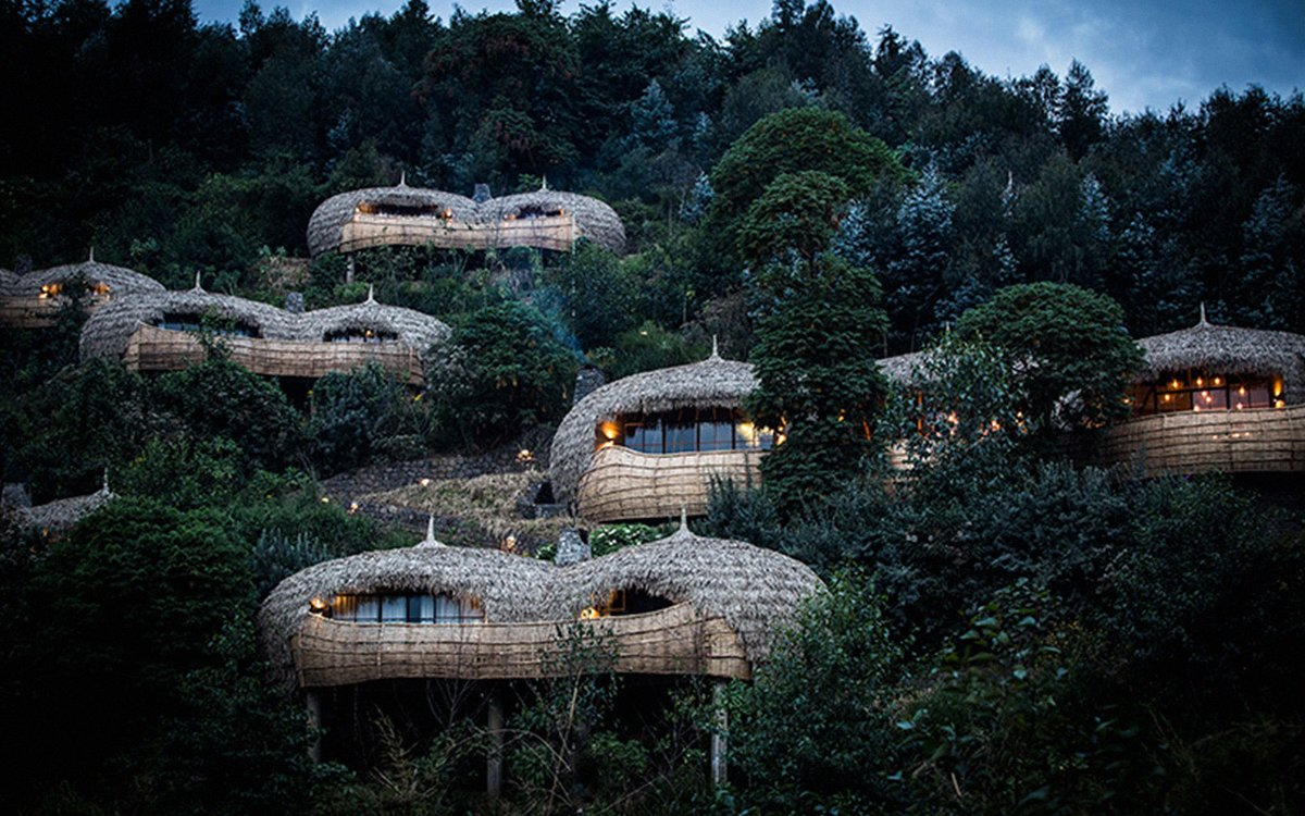 Thatched Treehouses in the Middle of a Volcano Crater? Do Tell.