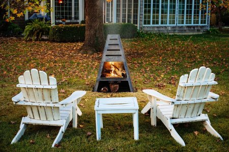 In the Beginning There Was Fire. Now There's a Firepit/Grill/Smoker Hybrid.
