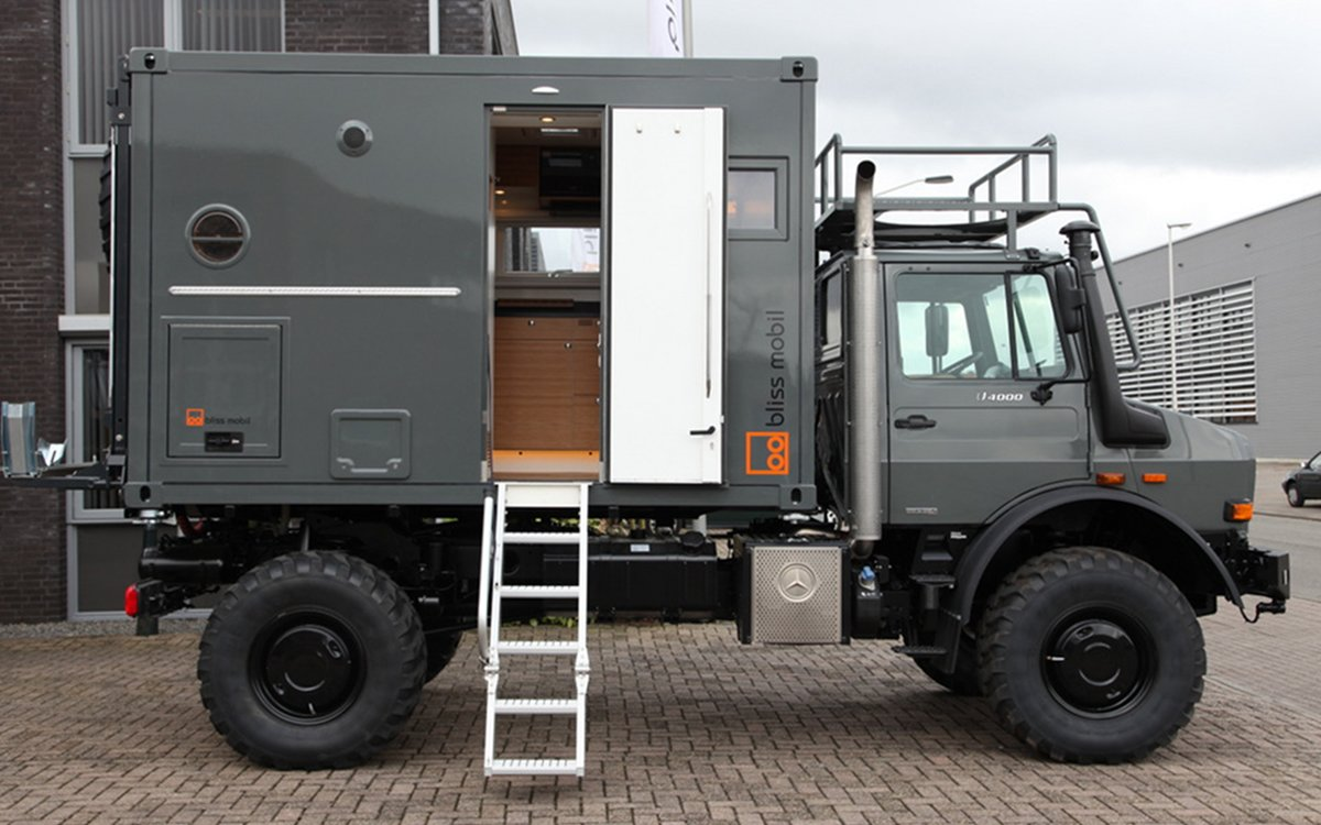 It's Got a Kitchen, Four Wheels, a Bed and Turntables. We Want One.