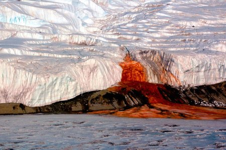 What's the Deal With Antarctica's Terrifying Blood Falls?