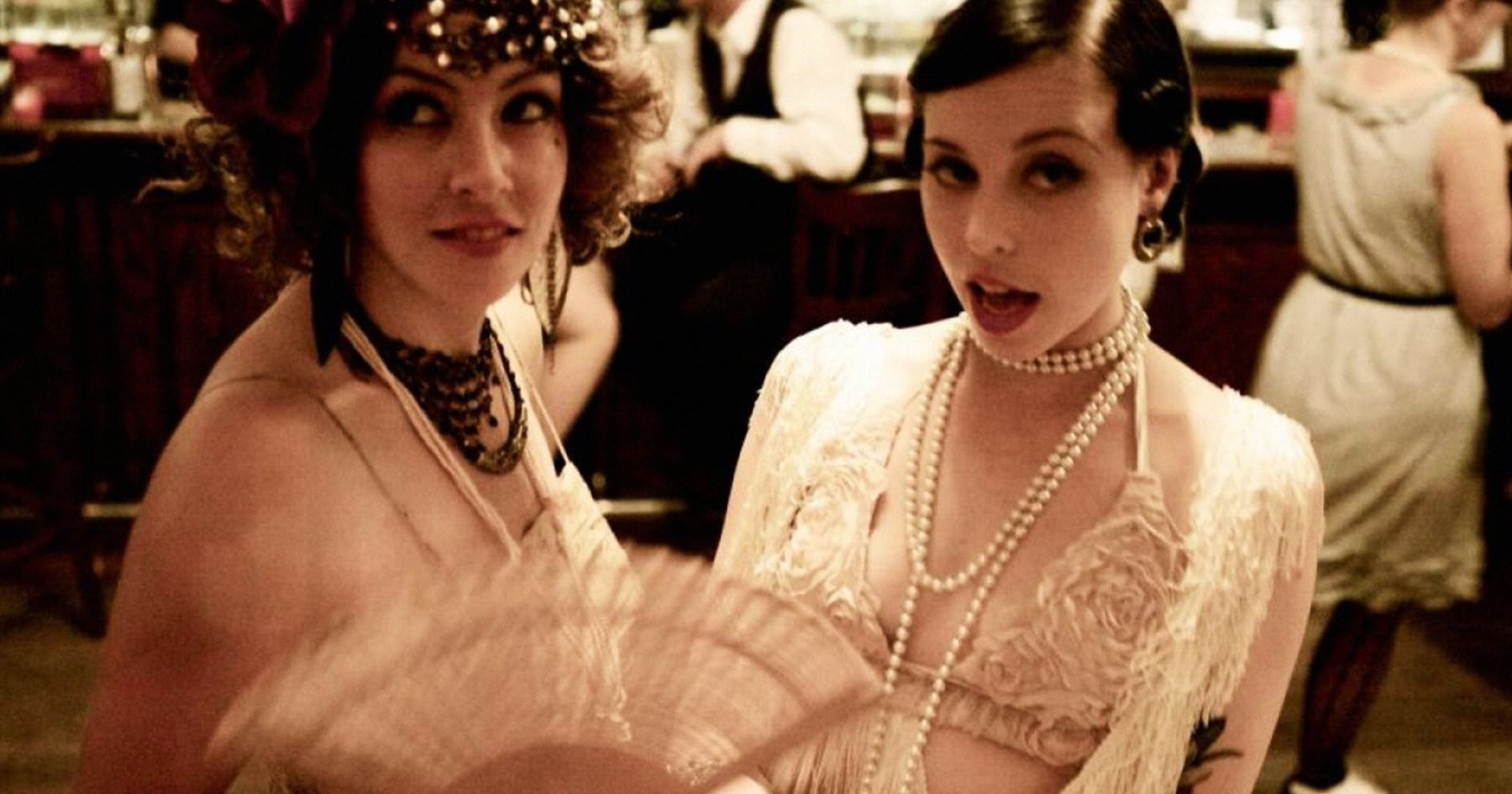 Chicks Dig Moonshine, Burlesque and Japanese Jazz. Trust.