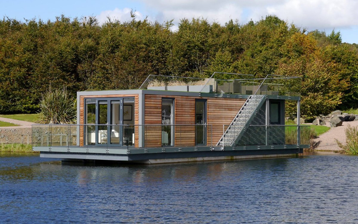 These Stunning Houseboats Are Easy on the Eyes, Planet