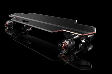 A College Student Just Invented the World's Most Opulent Skateboard