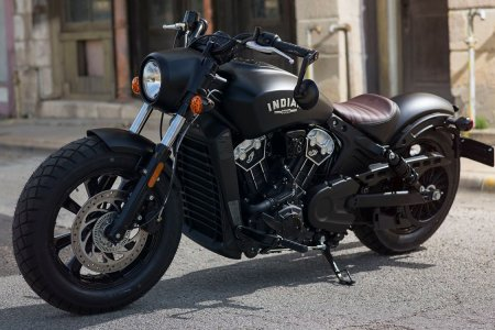 Indian Motorcycle Drops Everything for Its New Scout Bobber