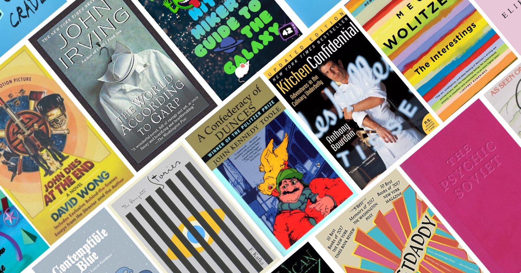 25 Hilarious Books - InsideHook