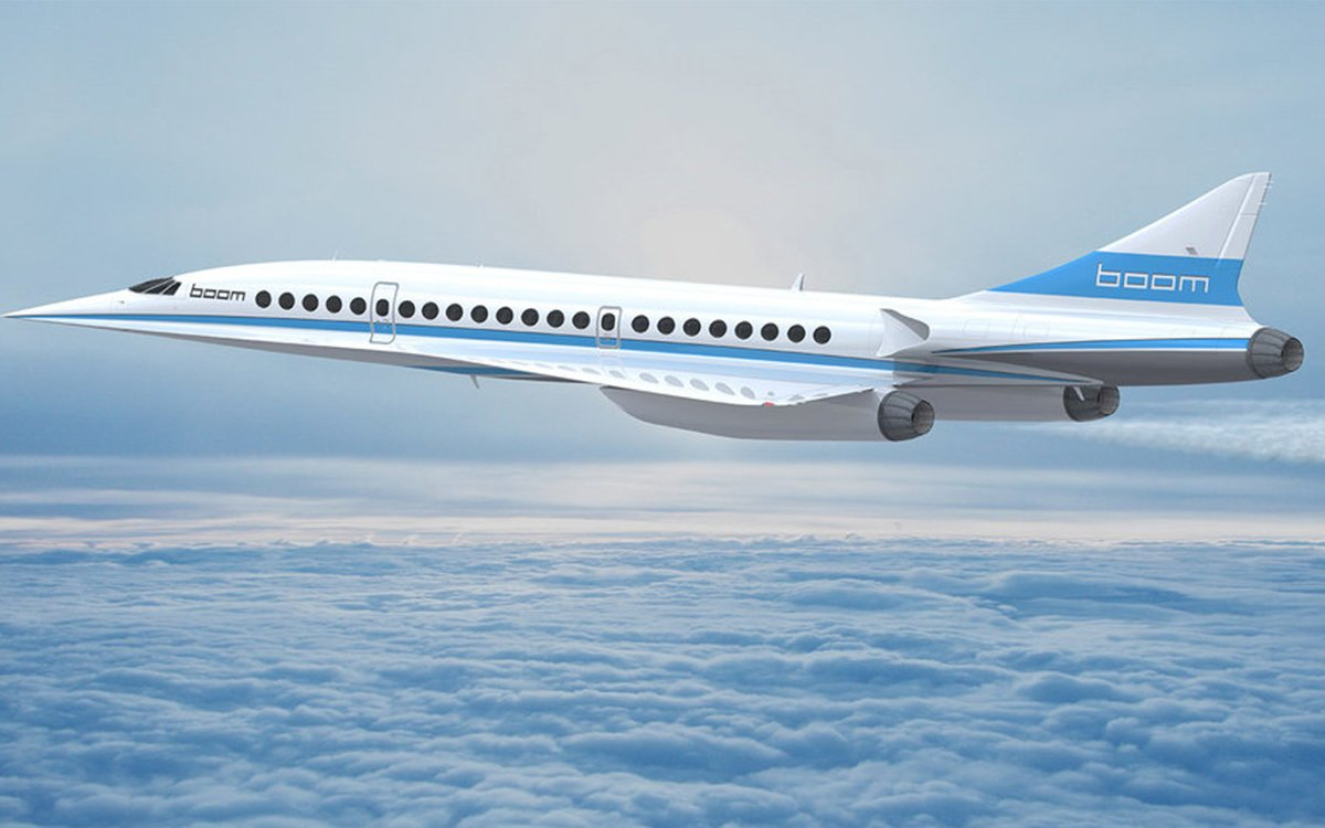Here's What Richard Branson's Supersonic Jets Will Look Like