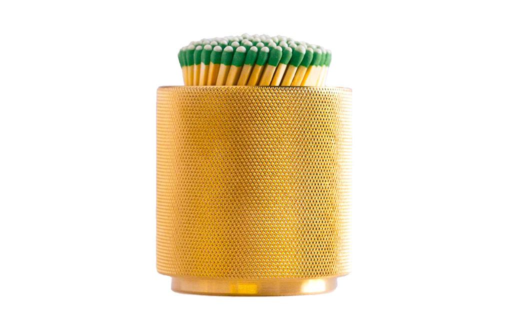 Brass Match Scratcher