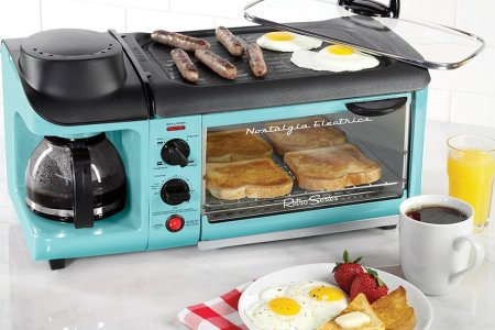 This Thing Makes Bacon, Eggs, Toast and Coffee AT THE SAME TIME