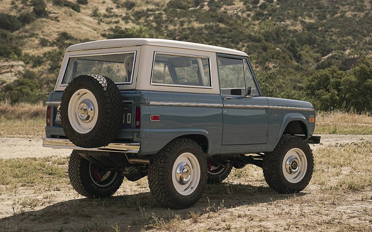 These Custom Bronco Restorations Are Even Better Than the Originals