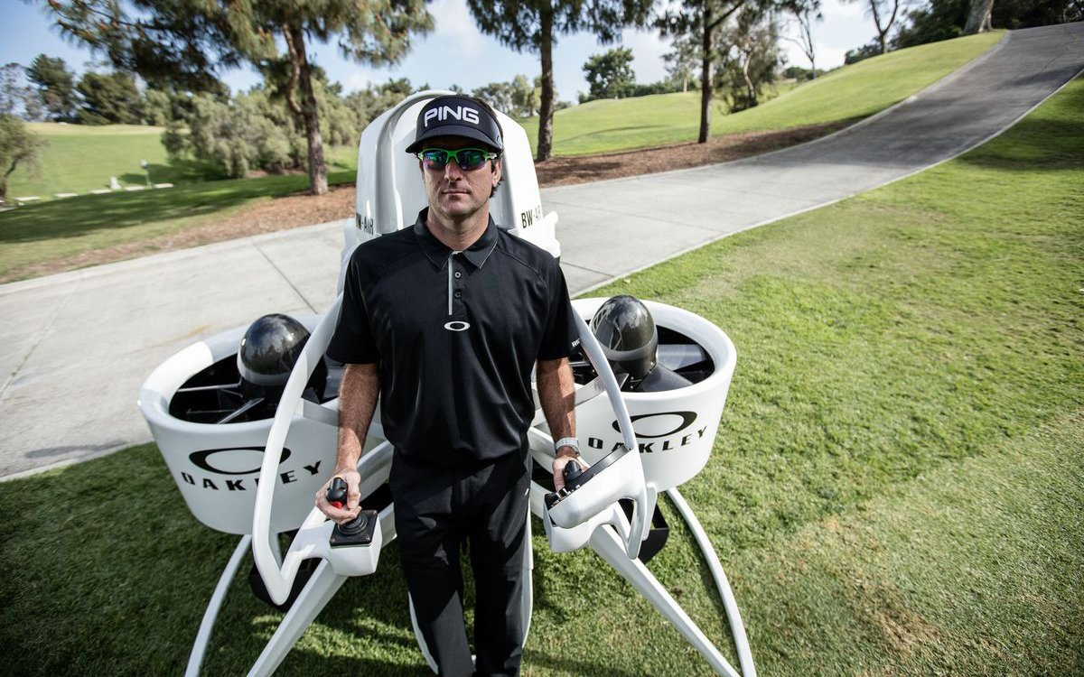So Bubba Watson's Jetpack Golf Cart Is Fairly Bonkers