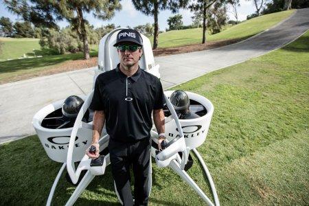So Bubba Watson's Jetpack Golf Cart Is Fairly Bonkers