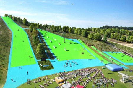Would You Pay for a Lift Ticket on a Fake Plastic Ski Slope?
